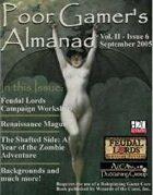 Poor Gamer's Almanac (September 2005)