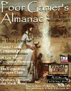 Poor Gamer's Almanac (November 2005)