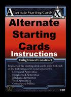 Alternate Starting Cards - Custom Card