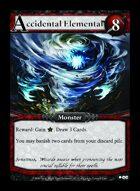 Accidental Elemental - Custom Card
