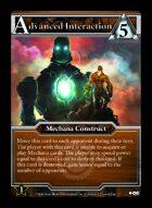 Advanced Interaction - Custom Card