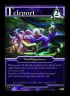 Teleport - Custom Card