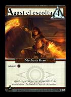 Agast El Escolta - Custom Card