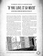 Monsters and Other Childish Things - The Dreadful Secrets of Candlewick Manor: If You Love It So Much