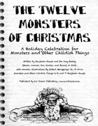 Monsters and Other Childish Things: 12 Monsters of Christmas