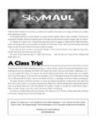 Monsters and Other Childish Things: SkyMaul