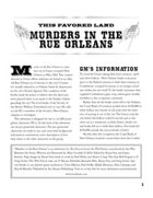 Wild Talents - This Favored Land: Murders in the Rue Orleans