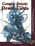 Complete Psionic Power Cards