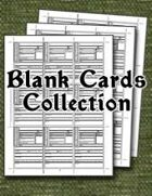 Blank Cards Collection