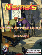 Name's Games September 2019 Collection