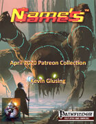 Name's Games April 2020 Collection