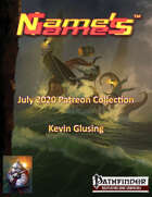 Name's Games July 2020 Collection