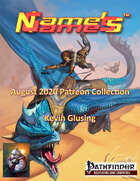 Name's Games August 2020 Collection
