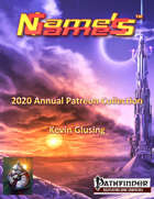 Name's Games 2020 Exclusive Collection