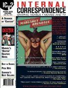 Internal Correspondence #83 (Comics and Graphic Novels, Movies & TV)