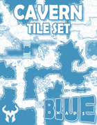 Blue Maps: Cavern Tile Base Set