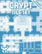 Blue Maps: Crypt Tile Expansion Set