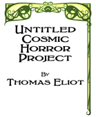 Untitled Cosmic Horror Project Quickstart Rules