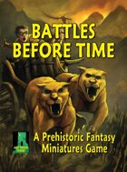 Battles Before Time