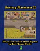Fantasy Merchants 2: More VTT Maps