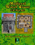 VTT Medieval Watchtower Map Set