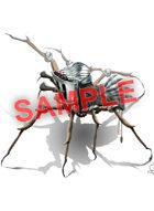 Image- Stock Art- Stock Illustration- Spider artifact with helmet