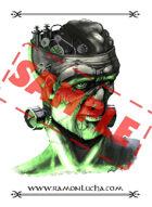Image - Stock Art - Grayscale - Stock Illustration - Franky - flesh golem