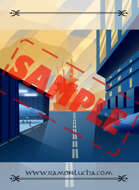 Image - Stock Art - Stock Illustration - Airport space -ship