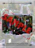 Image - Stock Art - Stock Illustration - Airport space -ship - City - Future
