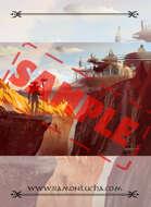 Image- Stock Art- Stock Illustration- Tale - Castle - Background - Desert - City