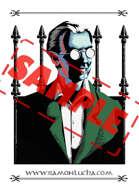 Image - Stock Art - Grayscale - Stock Illustration - rpg - Vampire