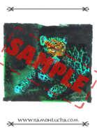 Image - Stock Art - Grayscale - Stock Illustration - rpg - animal - Jaguar