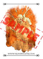 Image - Stock Art - Grayscale - Stock Illustration - rpg - Zombie - grayscale
