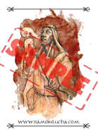 Image - Stock Art - Grayscale - Stock Illustration - rpg - Viking - Augur - grayscale