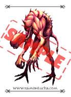 Image - Stock Art - Grayscale - Stock Illustration - rpg - Character - Monster Rat - Mutant