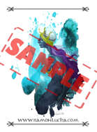Image - Stock Art - Grayscale - Stock Illustration - rpg - Manga - Character - mermaid - queen