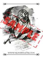 Image - Stock Art - Grayscale - Stock Illustration - rpg - Manga - Character - Samurai - Warrior - Ninja