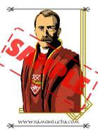 Image - Stock Art - Grayscale - Stock Illustration - rpg - investigation - 20s - priest