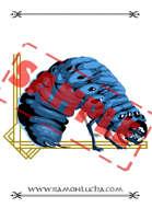 Image - Stock Art - Grayscale - Stock Illustration - rpg - Worm - Monster - chtulhu