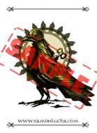 Image - Stock Art - Grayscale - Stock Illustration - rpg -raven - Artifact raven