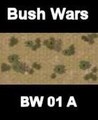 Bush Map#1 BUSH WARS Series for all Modern Skirmish Games Rules