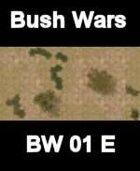 Bush Map#5 BUSH WARS Series for all Modern Skirmish Games Rules