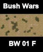 Bush Map#6 BUSH WARS Series for all Modern Skirmish Games Rules
