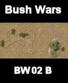 Bush / Track Map#2 BUSH WARS Series for all Modern Skirmish Games Rules