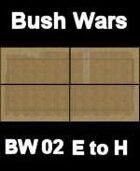 Bush / Farm Map #1 to #4 BUSH WARS Series for all Modern Skirmish Games Rules