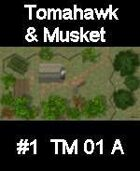 House#1 TOMAHAWK & MUSKET Series for Skirmish rules