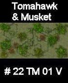 Wood #22 TOMAHAWK & MUSKET Series for Skirmish rules