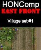 HONComp EAST FRONT Village Set #1