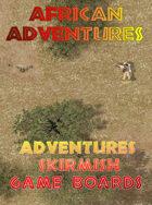 AFRICAN ADVENTURES  Skirmish  Game Boards Pack 1