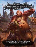 Ultimate Bestiary: Revenge of the Horde - Monster Reference Deck (PF)
